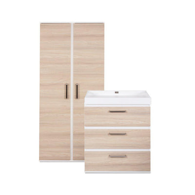 Silver Cross Wardrobe + Dresser - Finchley-Nursery Sets- Natural Baby Shower