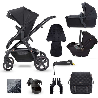 Silver Cross Wave Dream Bundle - Eclipse-Travel Systems- Natural Baby Shower