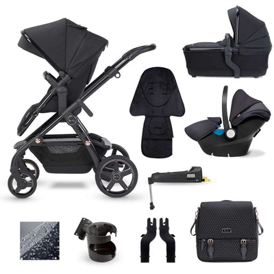 Silver Cross Wave Simplicity Bundle - Eclipse-Travel Systems- Natural Baby Shower