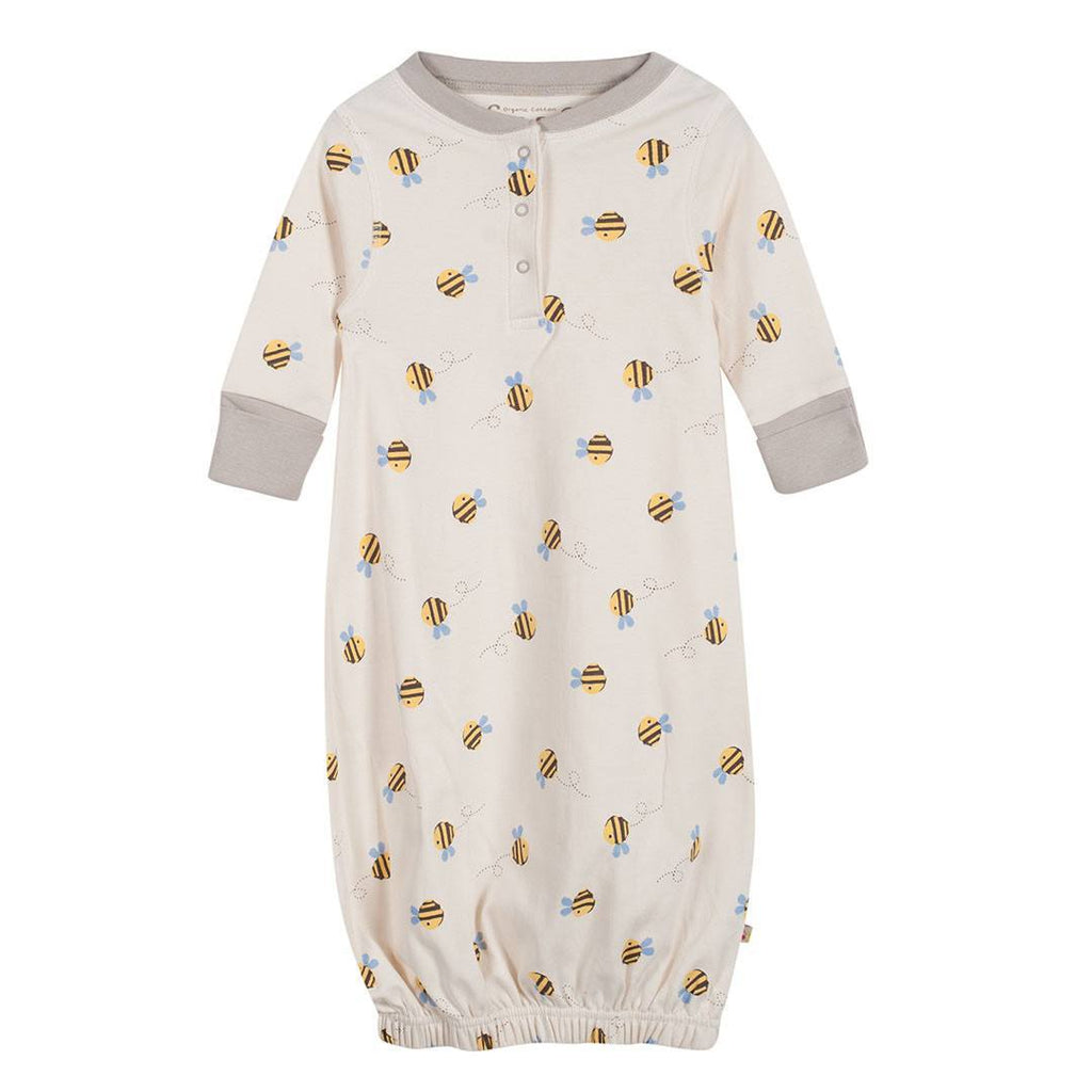 Frugi Gown - Buzzy Bee - Sleep Gowns - Natural Baby Shower