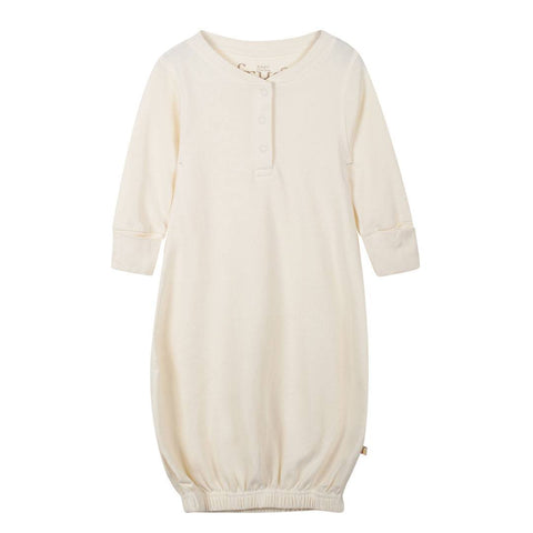 Sleep Gowns - Frugi Gown - Natural