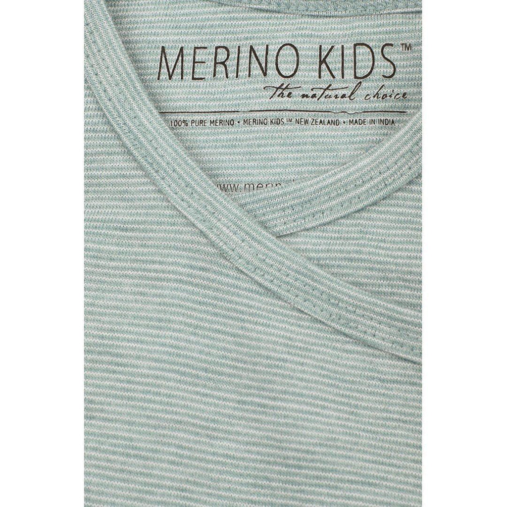 Sleep Gowns - Merino Kids Essentials Gown - Mint