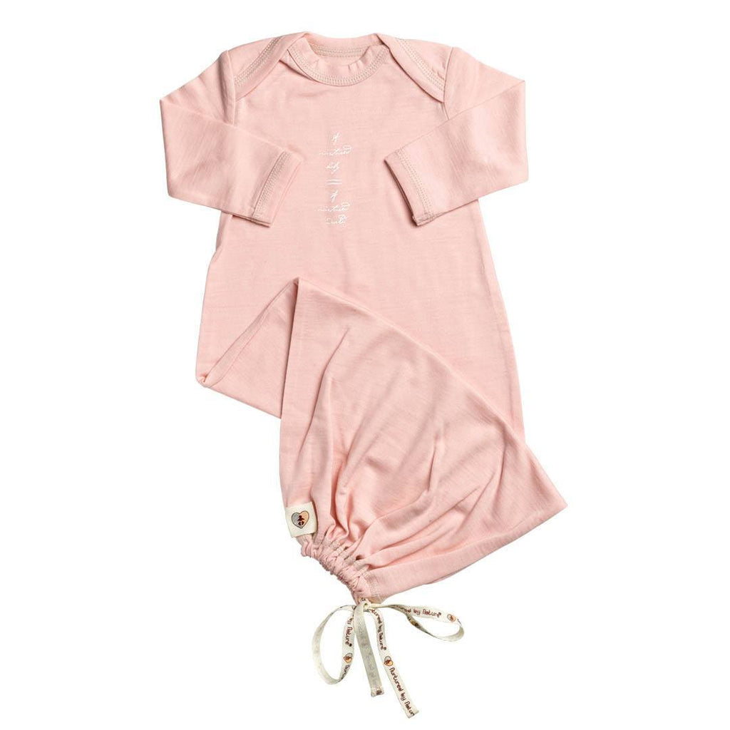Sleep Gowns - Nurtured By Nature Baby Night Sack - Hush Merino - Coral