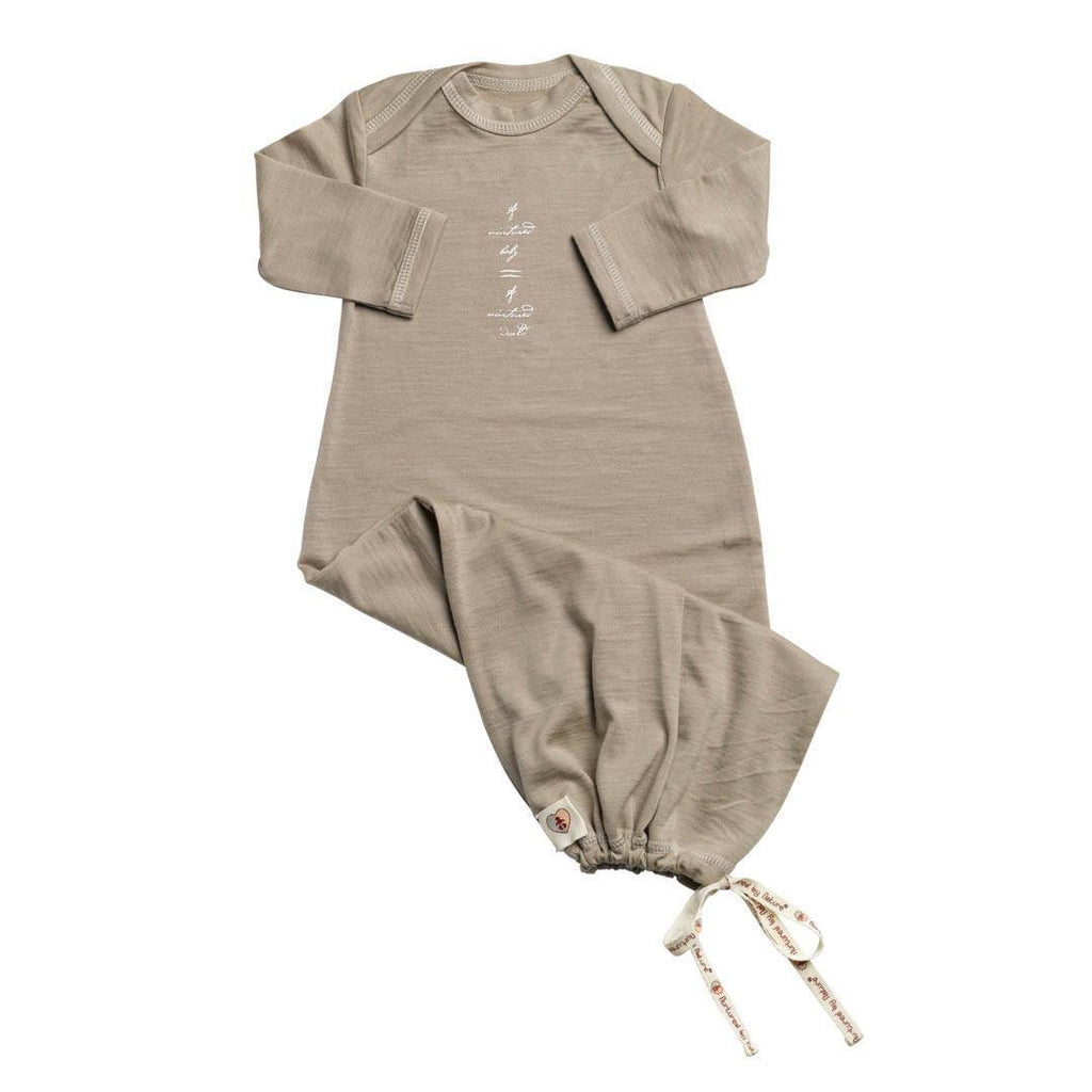 Sleep Gowns - Nurtured By Nature Baby Night Sack - Hush Merino - Kelp