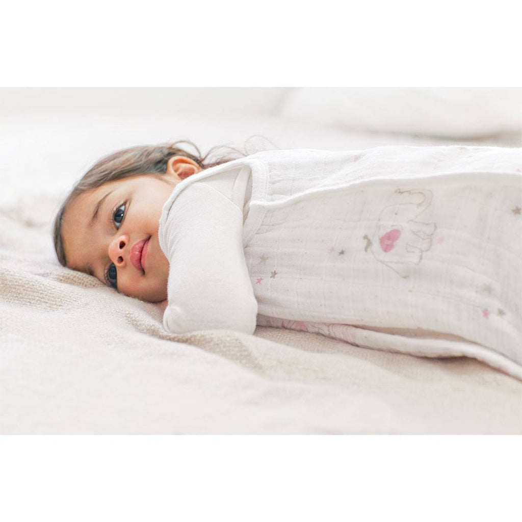 aden + anais Classic Sleeping Bag - Lovely - Ellie - Sleeping Bags - Natural Baby Shower