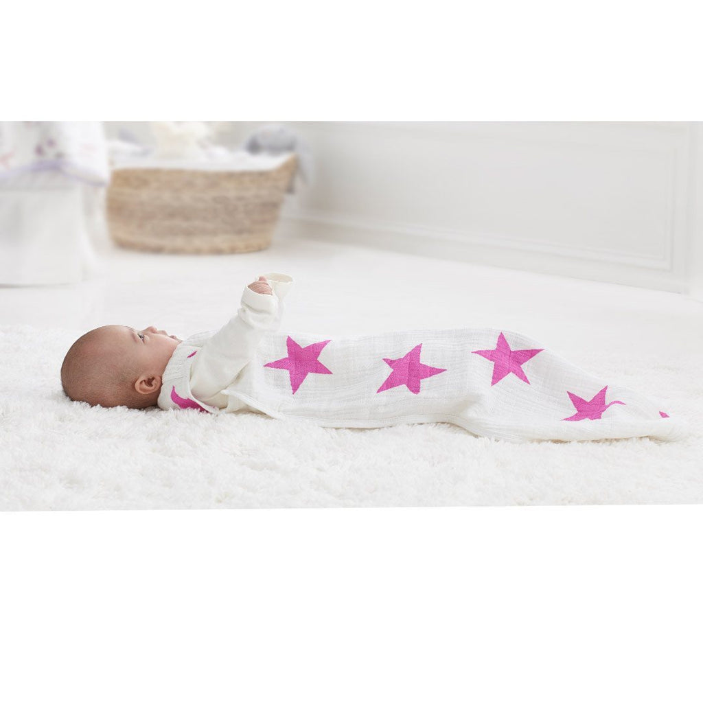 Sleeping Bags - Aden & Anais Classic Sleeping Bag - Twinkle Pink