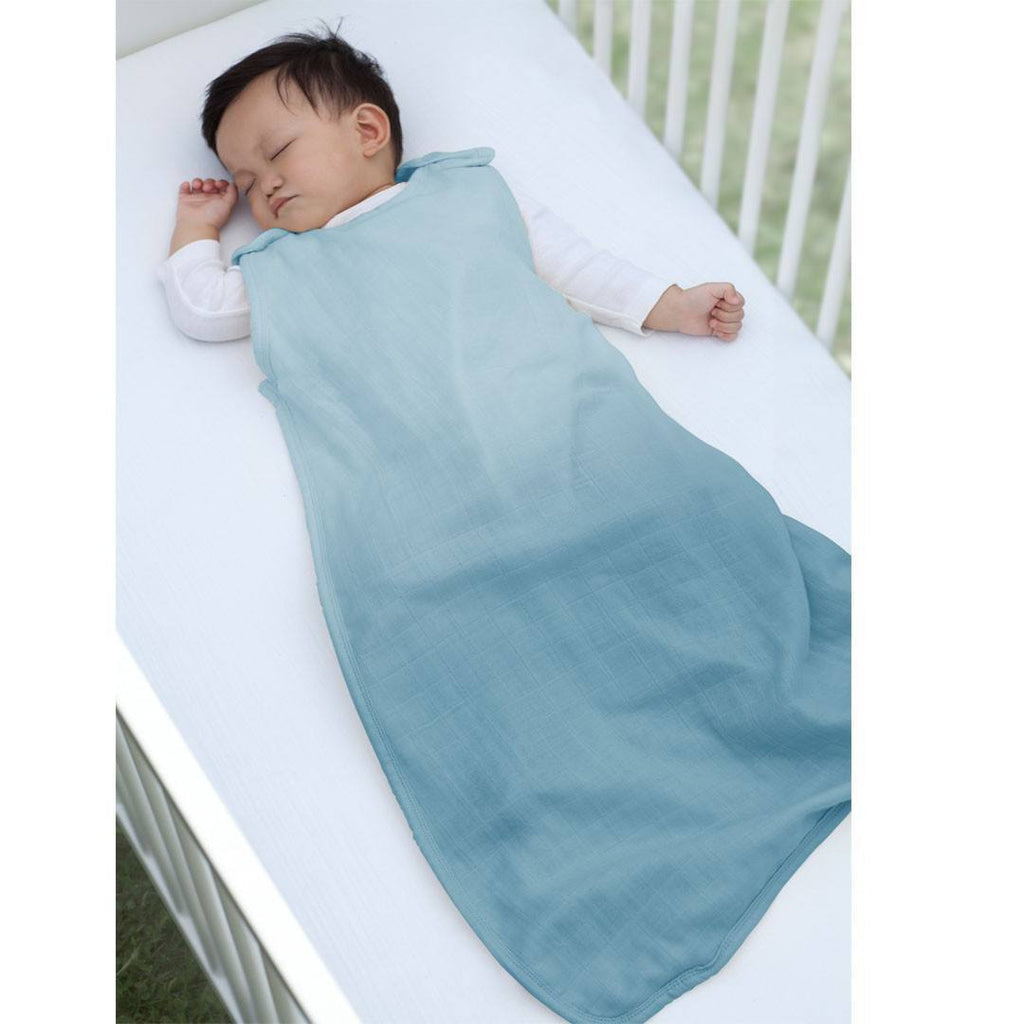 Sleeping Bags - Aden & Anais Merino Muslin Sleeping Bag - Seaside