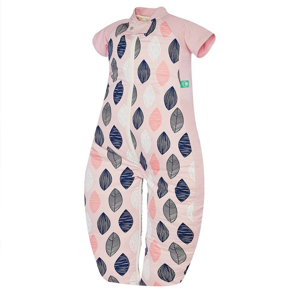 Sleeping Bags - ErgoPouch Sleepsuit Bag - 1.0 TOG - Pink Leaf