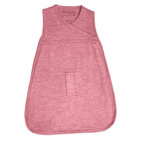 Merino Kids Cocooi Sleep Bag - Raspberry-Sleeping Bags-0-3m-Raspberry- Natural Baby Shower