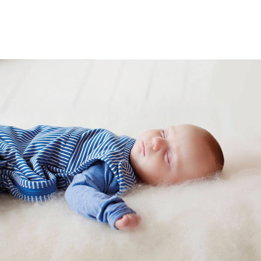 Merino Kids Go Go Baby Sleeping Bag - Standard Weight - Banbury - Sleeping Bags - Natural Baby Shower