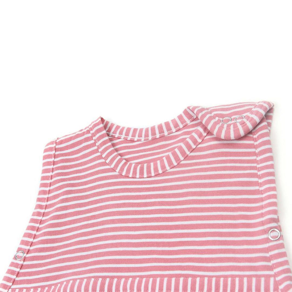 Merino Kids Go Go Toddler Sleeping Bag Standard Raspberry Detail