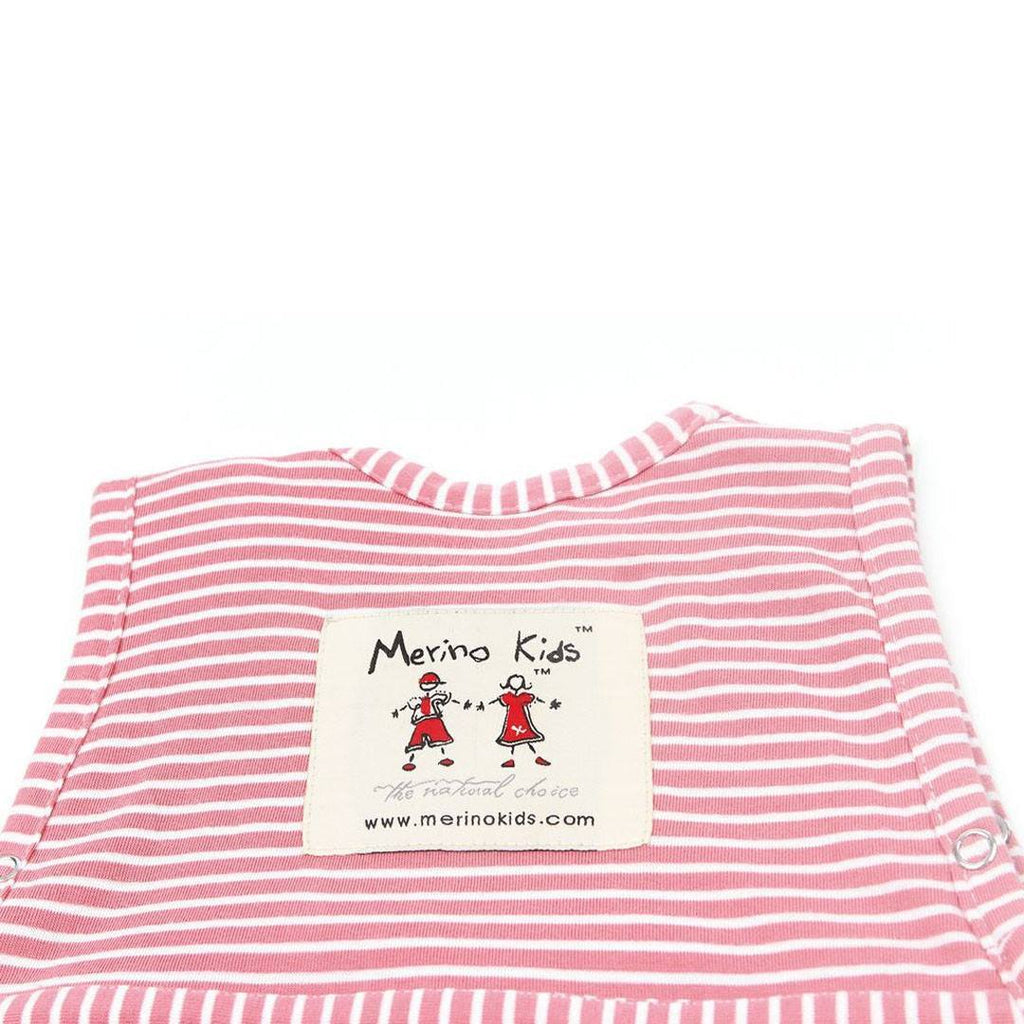 Merino Kids Go Go Toddler Sleeping Bag Standard in Raspberry