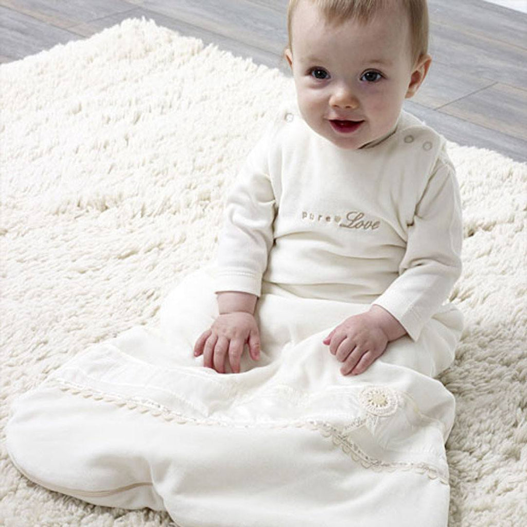 Natures Purest Baby Sleeping Bag - Pure Love - Sleeping Bags - Natural Baby Shower