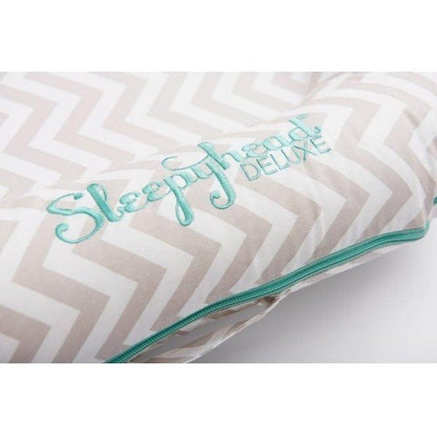Sleepyhead Deluxe+ Spare Cover - Silver Linings-Baby Nest Covers- Natural Baby Shower