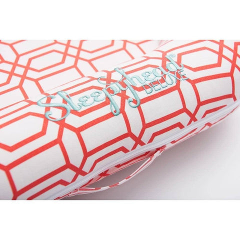 Sleepyhead Deluxe+ Spare Cover - Coral Trellis-Baby Nest Covers- Natural Baby Shower