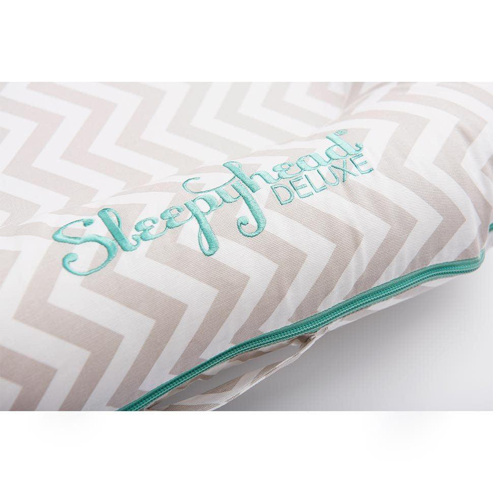 Sleepyhead Deluxe+ Pod - Silver Lining-Baby Nests- Natural Baby Shower