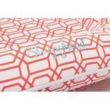 Sleepyhead Grand Spare Cover - Coral Trellis-Baby Nest Covers- Natural Baby Shower