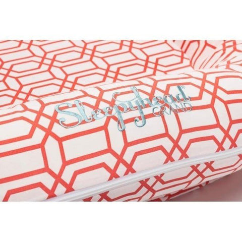 Sleepyhead Grand Spare Cover - Coral Trellis