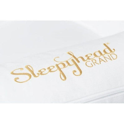 Sleepyhead Grand Spare Cover - Pristine White-Baby Nest Covers- Natural Baby Shower