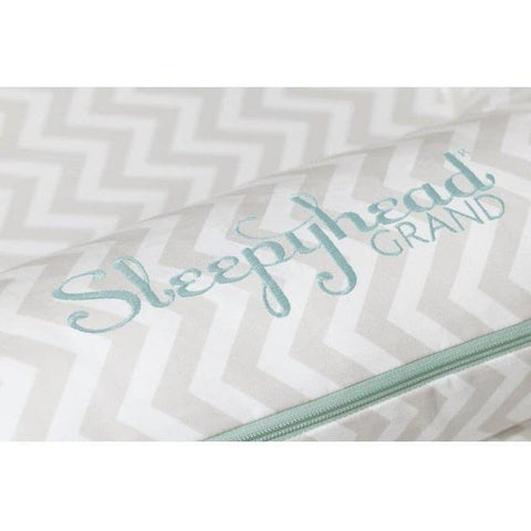 Sleepyhead Grand Spare Cover - Silver Lining-Baby Nest Covers- Natural Baby Shower