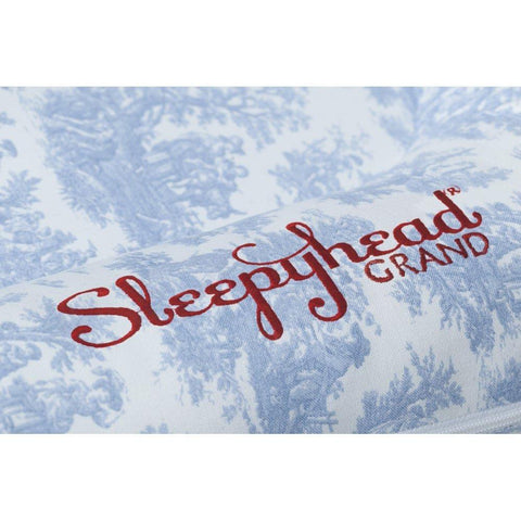 Sleepyhead Grand Spare Cover - Toile de Jouy Blue