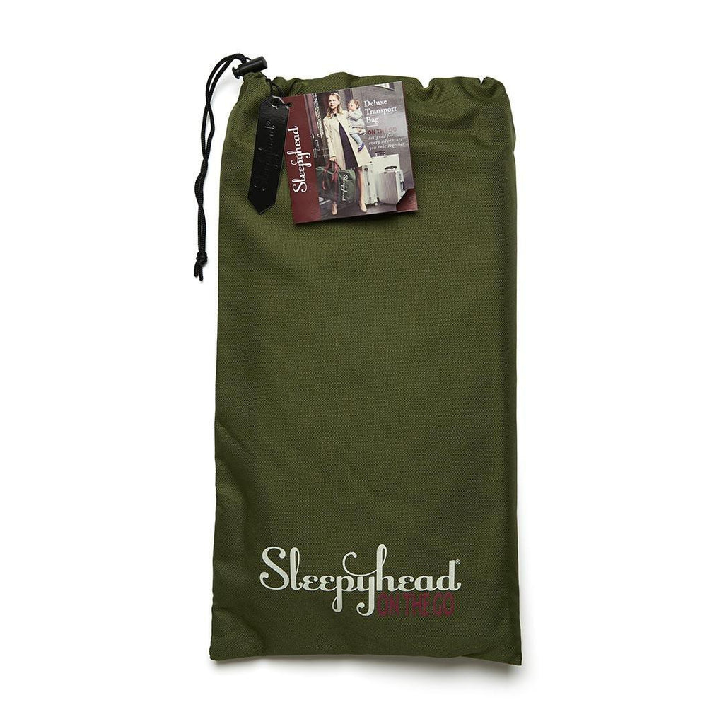 Sleepyhead Grand Transport Bag - Moss - Transport Bags - Natural Baby Shower
