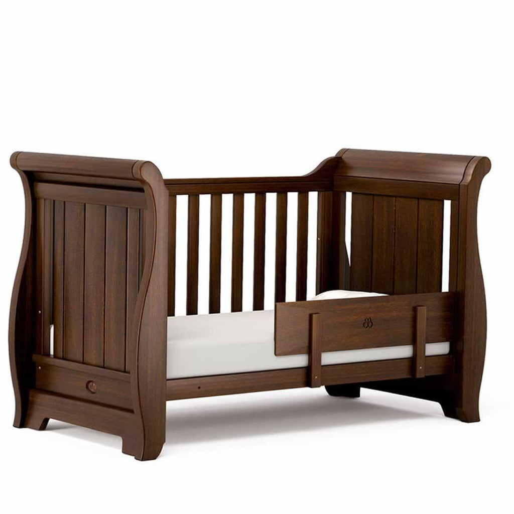 Boori Sleigh 3 Piece Nursery Set Cot in English Oak