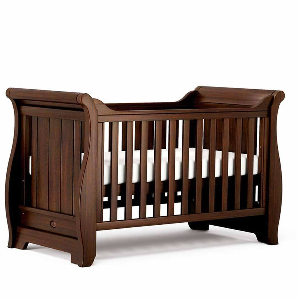 Boori Sleigh 2 Piece Nursery Set Cot - English Oak