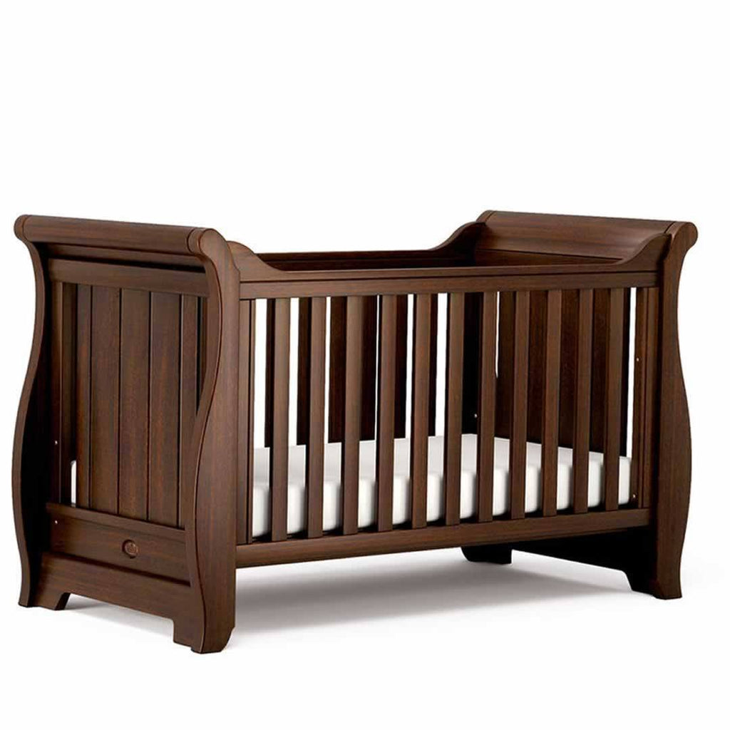 Boori Sleigh 2 Piece Nursery Set - Coffee-Nursery Sets- Natural Baby Shower