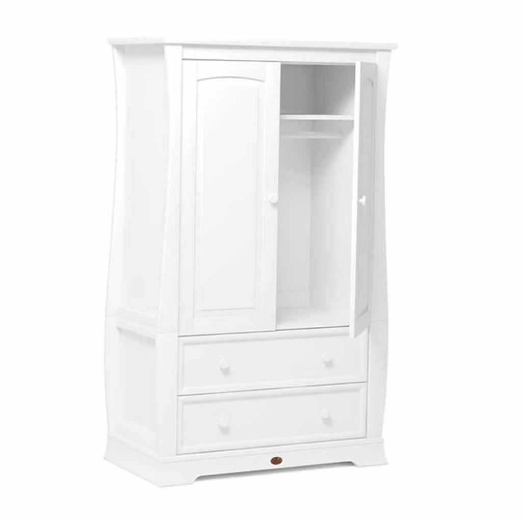Boori Sleigh Royale 3 Piece Nursery Set Wardrobe White