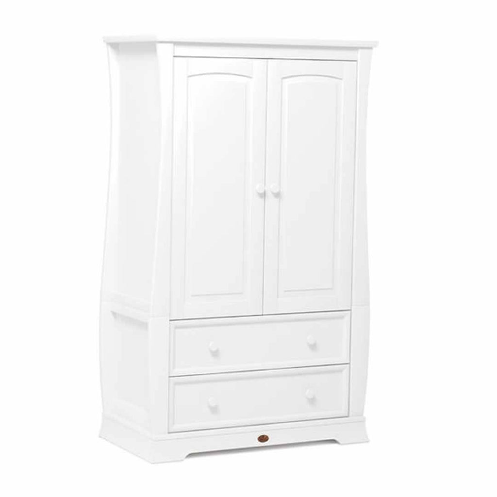 Boori Sleigh Royale 3 Piece Nursery Set Wardrobe - White
