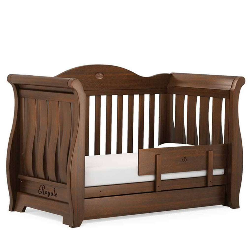 Boori Sleigh Royale 3 Piece Nursery Set Cot in English Oak