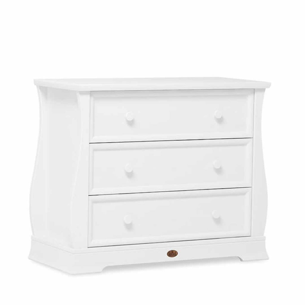 Boori Sleigh Royale 3 Piece Nursery Set Dresser in White