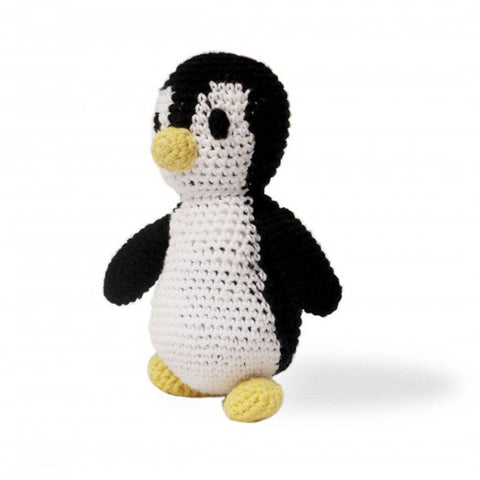 Ana Gibb Knitted Penguin-Soft Toys-Default- Natural Baby Shower