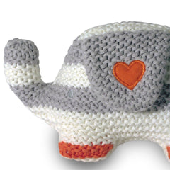 Soft Toys - Natures Purest Knitted Elephant - My First Friend