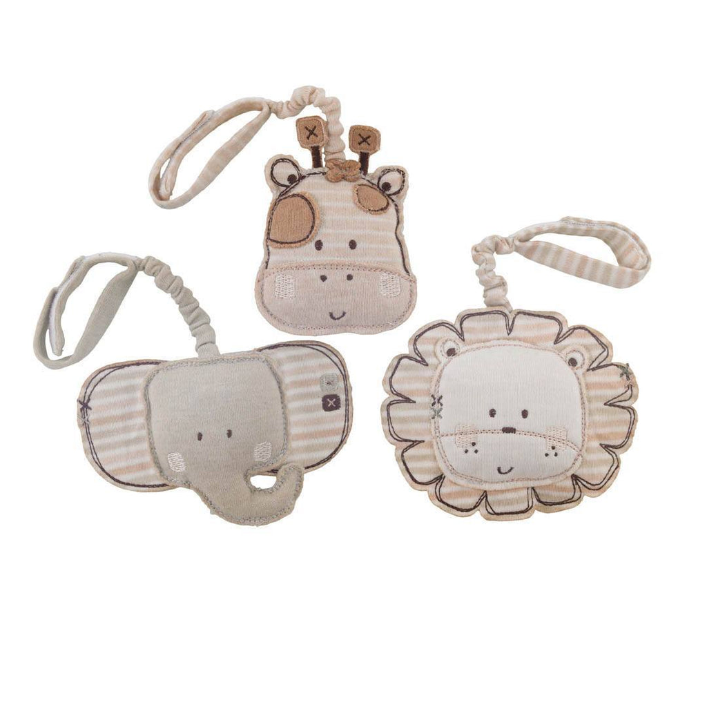 Soft Toys - Natures Purest Tag On Toys - Sleepy Safari