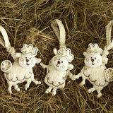 Soft Toys - Natures Purest Tag On Toys - Sleepy Sheepy