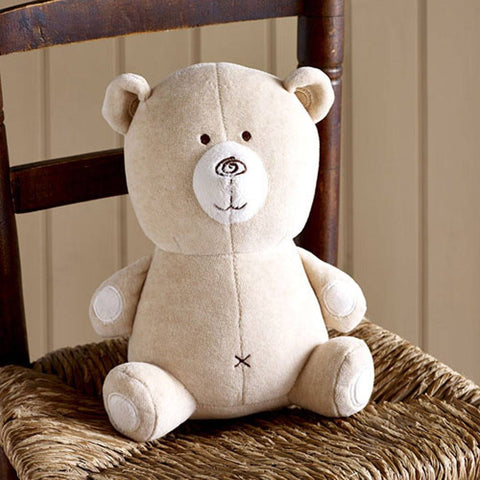 Natures Purest Teddy - Hug Me Bear - Soft Toys - Natural Baby Shower
