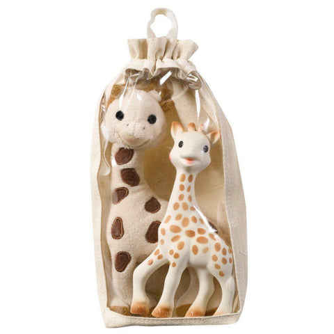 Sophie la Giraffe - Soft Sophie Gift Set - Soft Toys - Natural Baby Shower