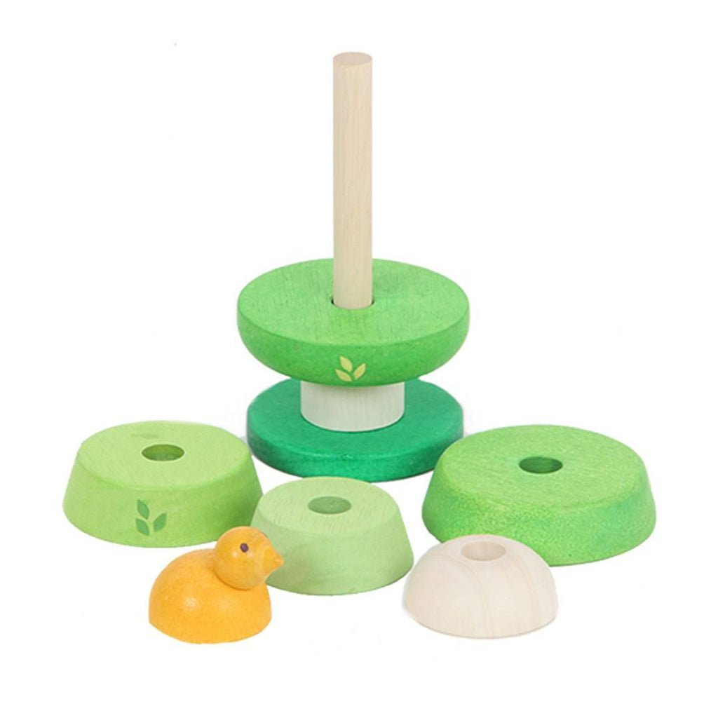 Le Toy Van - Petilou Treetop Stacker - Sorting & Stacking Toys - Natural Baby Shower