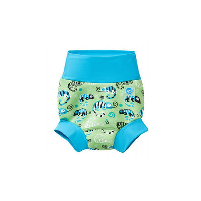 Splash About Happy Nappy - Green Gecko-Swim Nappies- Natural Baby Shower