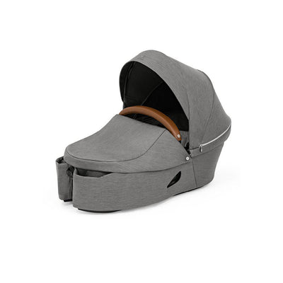 Stokke Xplory X Carrycot - Modern Grey-Carrycots-Modern Grey- Natural Baby Shower