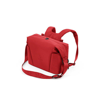 Stokke Xplory X Changing Bag - Ruby Red-Changing Bags-Ruby Red- Natural Baby Shower