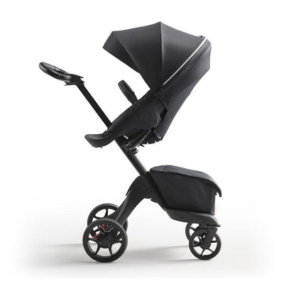Stokke Xplory X Pushchair - Rich Black-Strollers-Rich Black- Natural Baby Shower