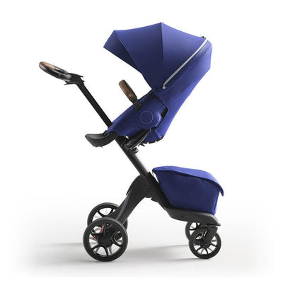 Stokke Xplory X Pushchair - Royal Blue-Strollers-Royal Blue- Natural Baby Shower