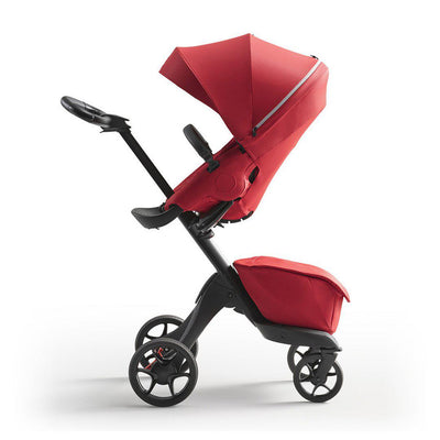 Stokke Xplory X Pushchair - Ruby Red-Strollers-Ruby Red- Natural Baby Shower