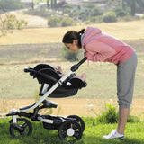 Strollers - Babyzen Zen Stroller + Carrycot - White With Black