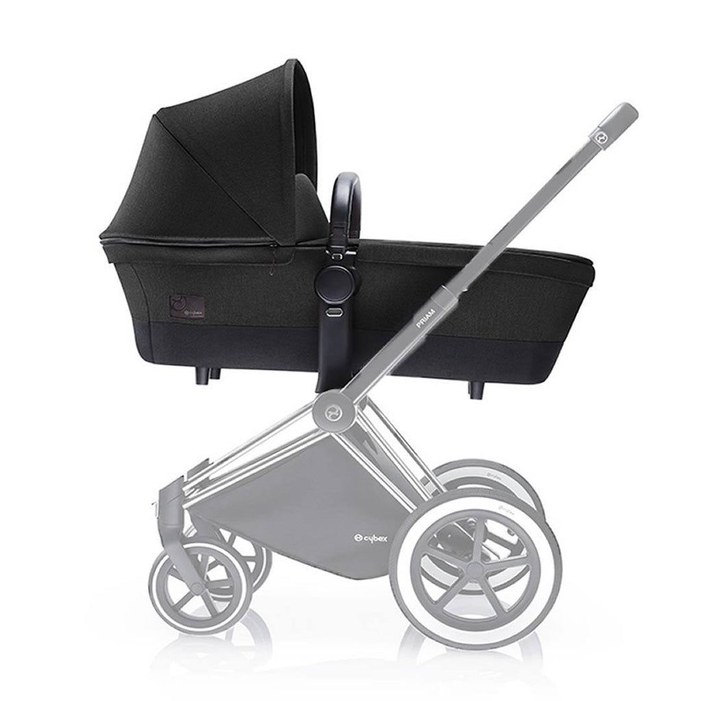 Cybex Priam Carrycot on Chassis Black Beauty