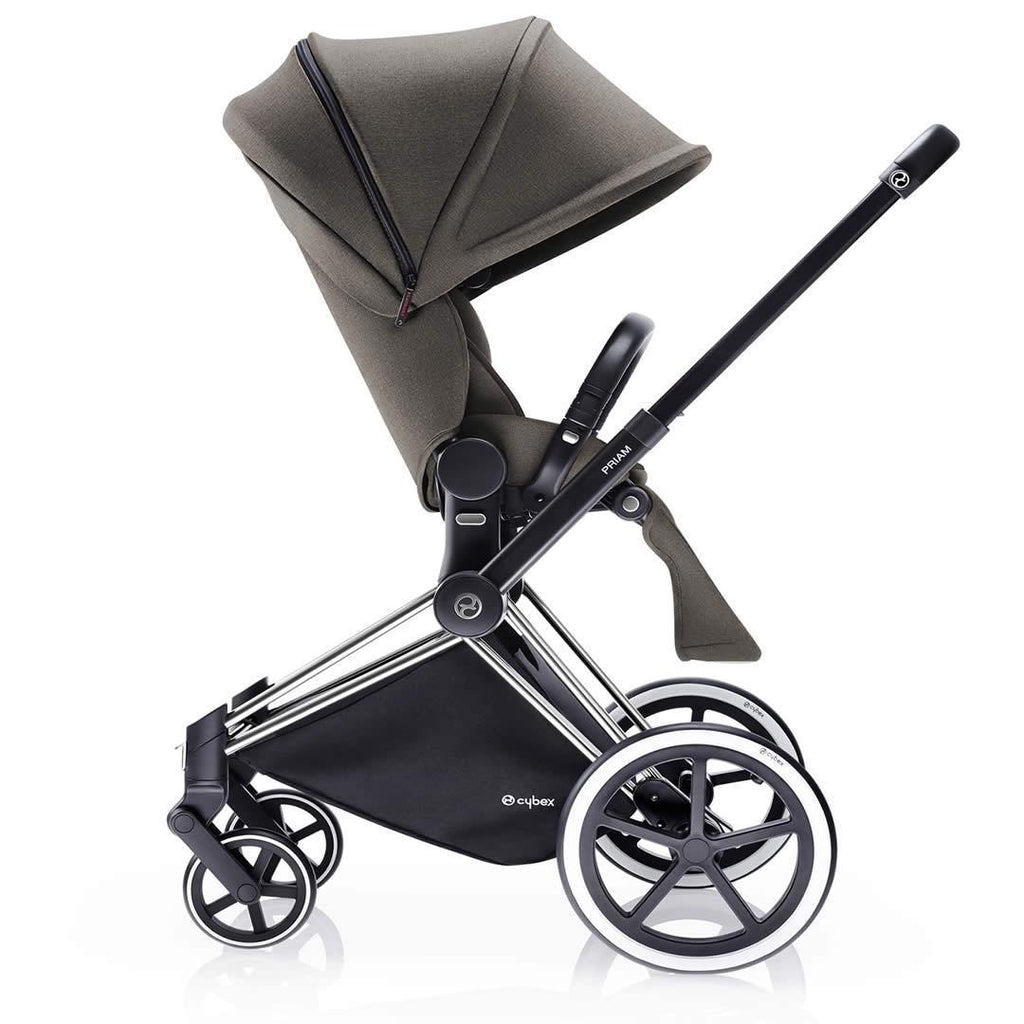 Cybex Priam Pushchair with Lux Seat - Desert Khaki - Strollers - Natural Baby Shower