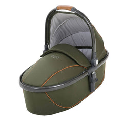 Strollers - Egg Carrycot - Gun Metal With Forest Green